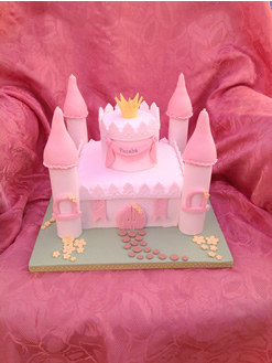 Fairytale Princess Birthday Cake