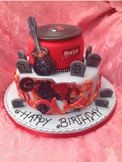 Meatloaf Birthday Cake
