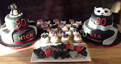 Dessert Table with a Theatrical Theme