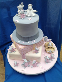 Angelina Ballerina Wedding Cake