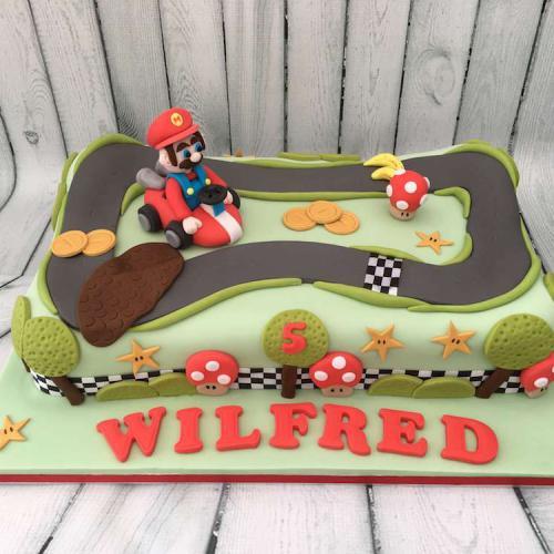 Mario Kart Birthday Cake