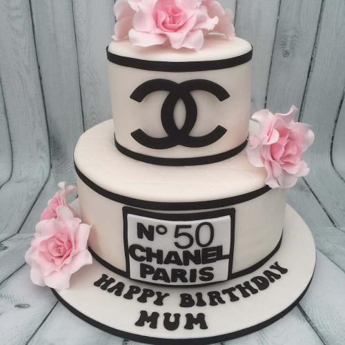 Coco Chanel Birthday Cake