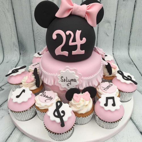 Celebration Cake and Cupcakes